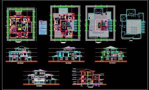 Duplex House Design plan